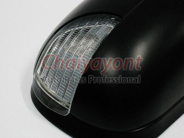 ฝาครอบกระจกมองข้าง พร้อมไฟ LED รถเบนซ์ Mercedes-Benz W210 Facelift Yr.2000 E200 E220 E240 CDI Kompre 2