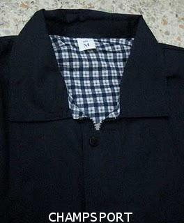 เสื้อแจ็คเก็ตผ้าค้อมซับลายสกอ็ต
