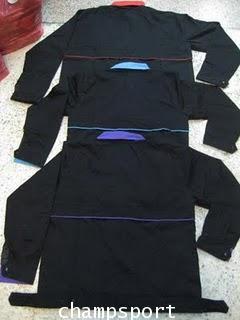 เสื้อแจ็คเก็ตผ้าค้อมทวิวตัดต่อสี 2