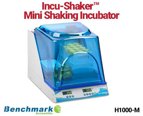เครื่องเขย่าสาร - Benchmark sci IncuShaker Mini Shaking Incubator