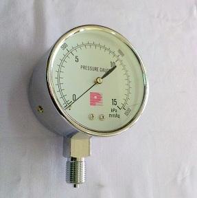 เกจ์วัดความดันต่ำ (มิลลิเมตร)รุ่นประหยัด 1