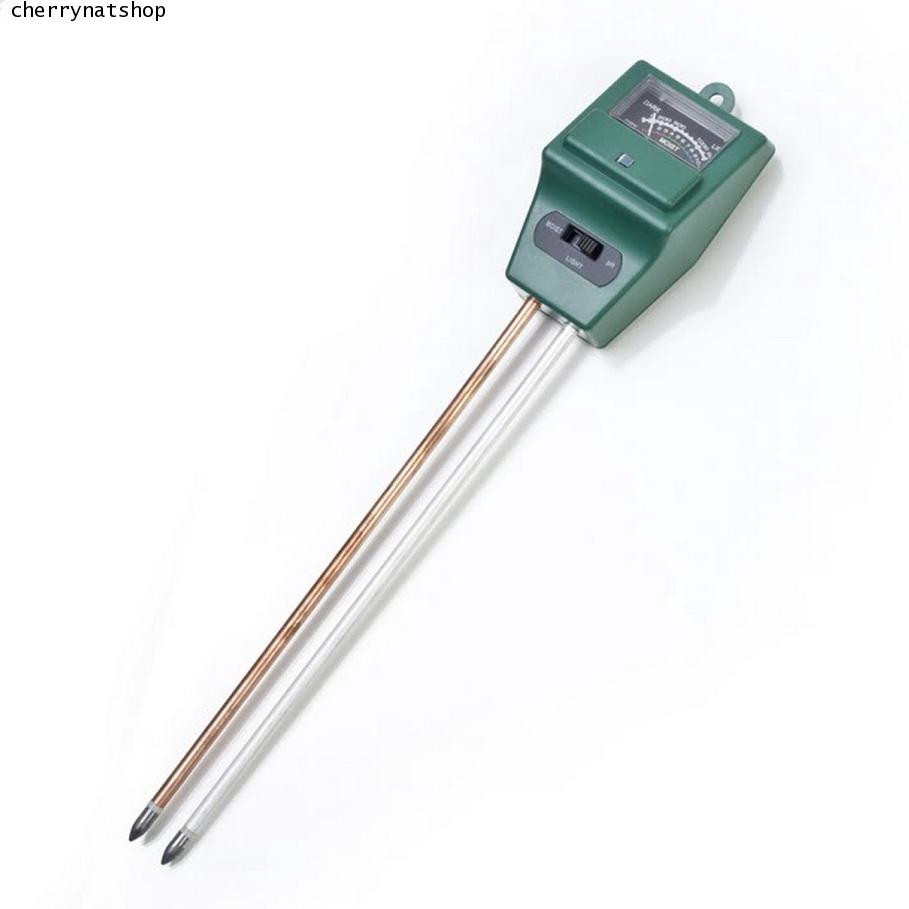 pH meter 3in1 เครื่องวัดแบบเข็ม pH ในดิน, วัดความเข้มแสง, ความชื้น
