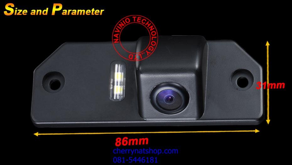 กล้องมองหลังตรงรุ่น ford focus2008-2012