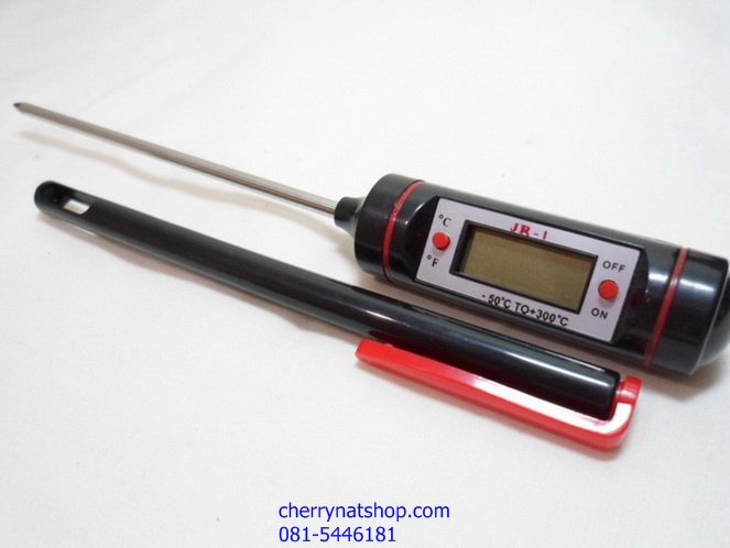 เครื่องวัดอุณหภูมิ แบบแท่ง วัดอุณหภูมิน้ำมันทอด วัดอุณหภูมิในอาหาร