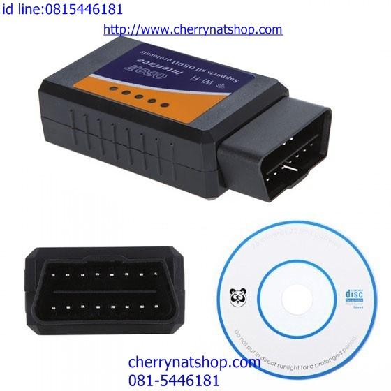 OBDII ELM327 แบบ wifi ใช้แสดงค่าระบบต่างของเครื่องยนต์