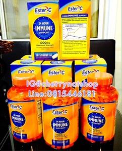สุดยอดวิตามินซีAntioxidant ESTER-C  24 hours immune support 1000 mg.Maximum strength 120เม็ด USA