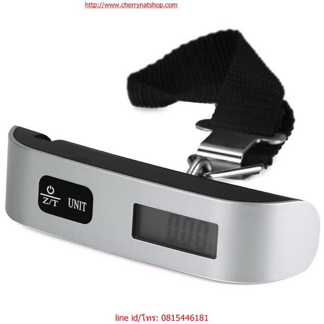 ตาชั่งกระเป๋าเดินทางดิจิตอล Electronic Luggage Scale 1