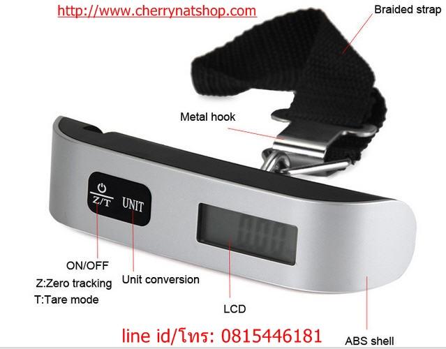 ตาชั่งกระเป๋าเดินทางดิจิตอล Electronic Luggage Scale 7