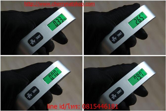ตาชั่งกระเป๋าเดินทางดิจิตอล Electronic Luggage Scale 8