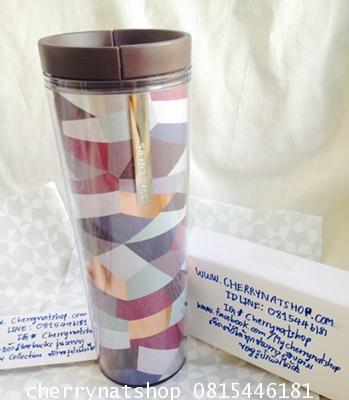 +ขายแก้วสะสมStarbucks USA Acrylic Mosaic Tumbler Holds 16 fl oz Sale! on Sale เก็บร้อนเก็บเย็นได้ดี