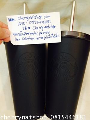 +ขายแก้วสตาร์บัคอเมริกาCold CupสแตนเลสLimiteที่ใครตามหาStainless Steel Cold CupMatte Blackดำด้าน16oz