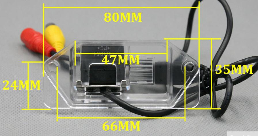 กล้องมองหลังตรงรุ่นmitsubishi lancer EX,mirrage(2012-2019)