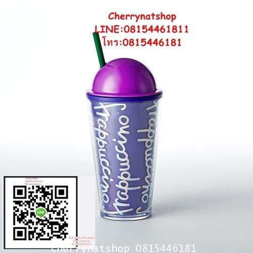 Frappuccino® Cold Cup - Purple, 16 fl ozสีม่วงทรงพลัง เสน่ห์แรง เพราะสีม่วงขายดี สาวกพี่บัคชอบมากๆ