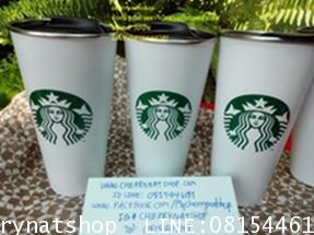 Starbucks TOGO Stainless Steel Dubaiใบขาวฝาดำโลโก้เงือกSirenเขียวClassicเรียบแต่บ่งบอกความเป็นพี่บัค