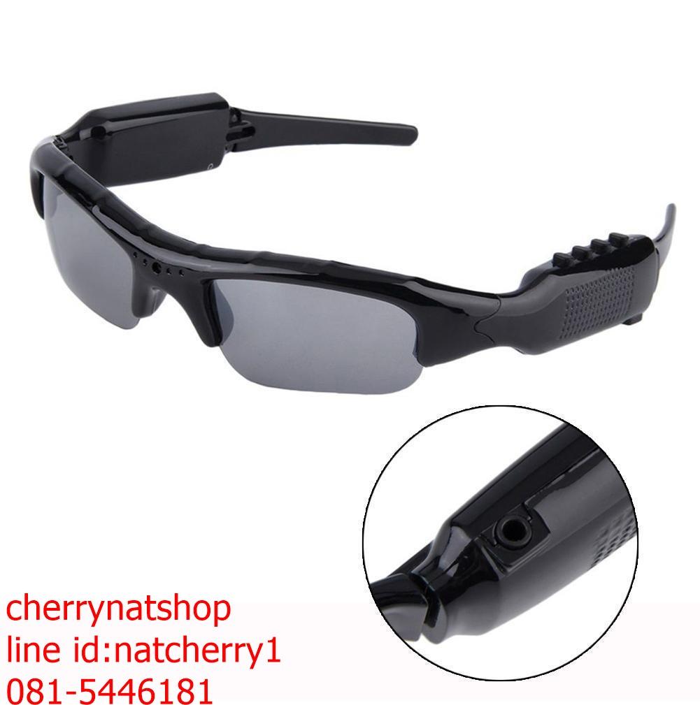 กล้องสายลับแว่นตาBเล่นmp3ได้