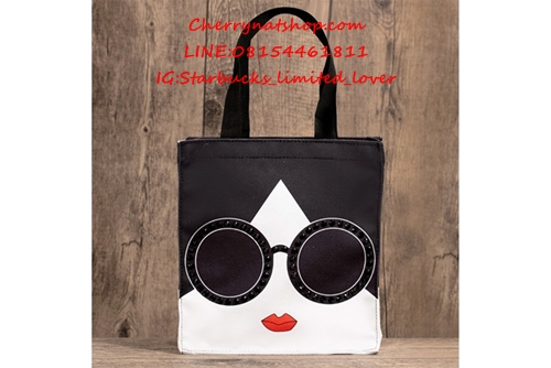 Sold out หมดแล้วค่ะ กระเป๋าAlice!! Starbucks Japan Limited Alice and Olivia Tote Bag 2017 ปีนี้กระเป