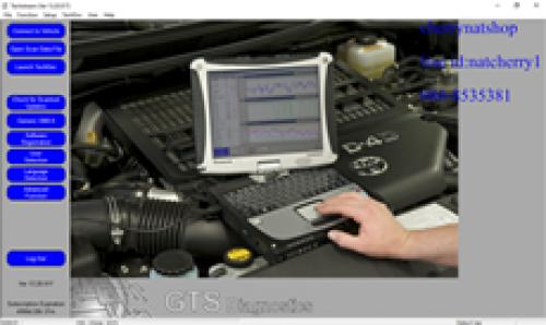 แผ่นโปรแกรม techstream v16ล่าสุด  ใช้กับสายศูนย์โตโยต้า แถม version   v14 v15 มีแต่