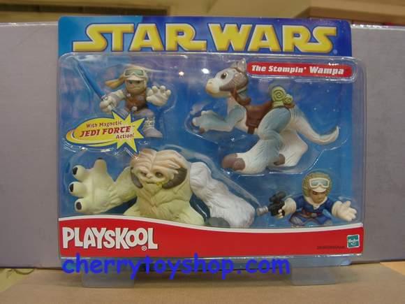 Star Wars Playskool Stompin Wampa Set