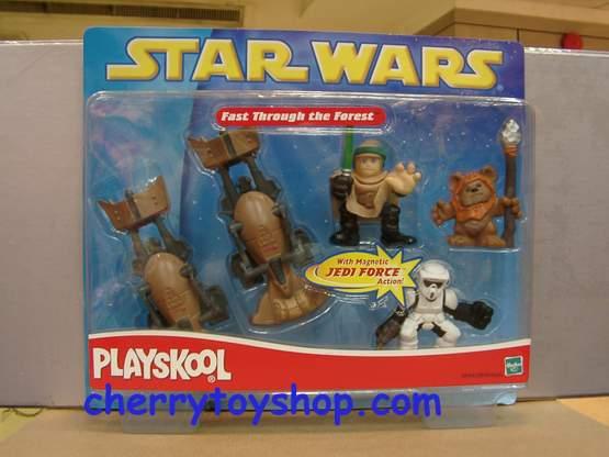 Starwars -Playskool -Fast Through the forest