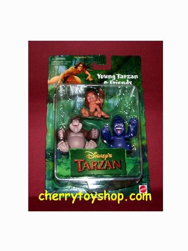 Young Tarzan & Friends