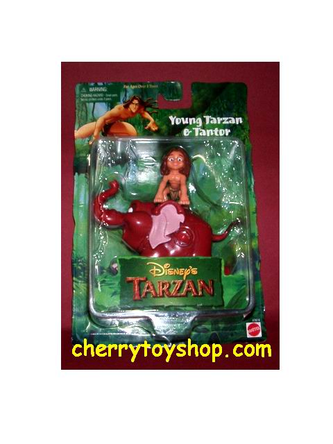 Young Tarzan & Tantor