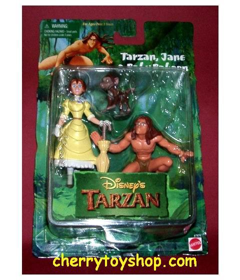 Tarzan, Jane & Baby Baboon