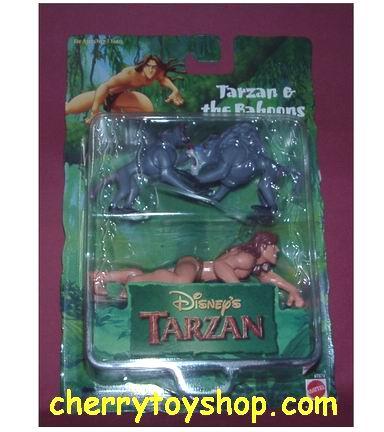 Tarzan & The Baboons