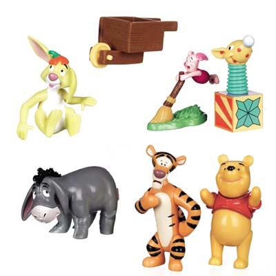 Winnie The Pooh P.V.C. figures Gift Set