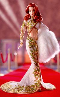 Radiant Red Head Barbie by Bob Mackie