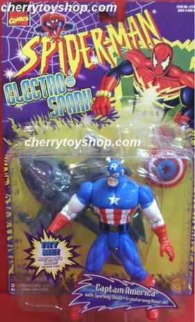 Captain America - Spider man Eletro Spark