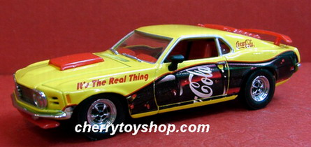 Coca-Cola -1970 Ford Boss Mustang