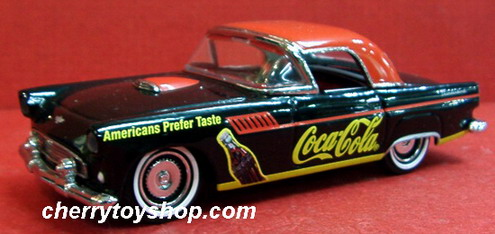 Coca-Cola - 1955 Ford Thunderbird