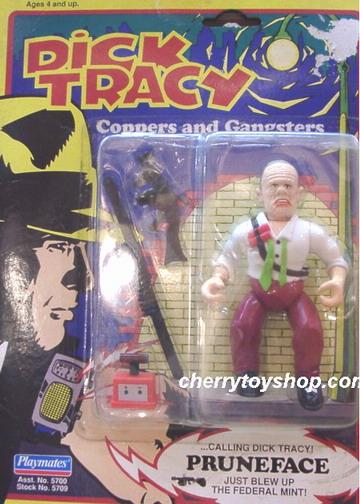Dick Tracy - Pruneface