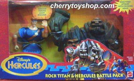Disney's Hercules Rock Titan & Hercules Battle Pack