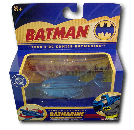 1960\'s Batmarine Batmobile Aircraft