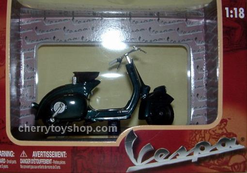 Vespa 98 -  Dark Green 1946