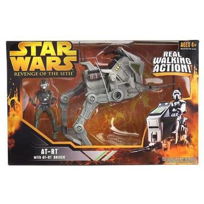 Star Wars Revenge of the Sith: AT-RT with AT-RT DRIVER