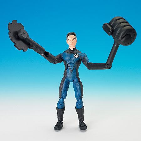 SHAPE-SHIFTING MR. FANTASTIC - with Working Snap-On Parts & Interchangeable Head