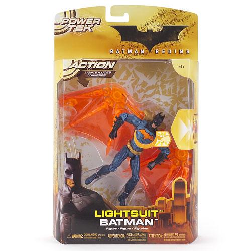 Batman Begins: Power Tek - Lightsuit Figure