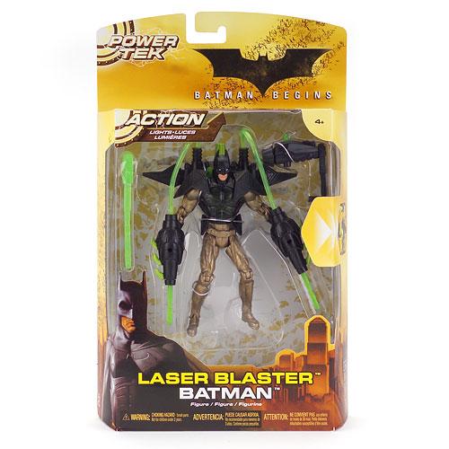 Batman Begins: Power Tek Laser Blaster Action Figure
