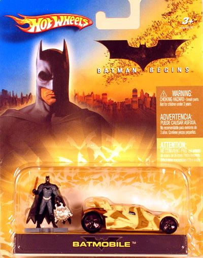 Hot Wheels Batman Begins Camo Batmobile  1/64 Scale
