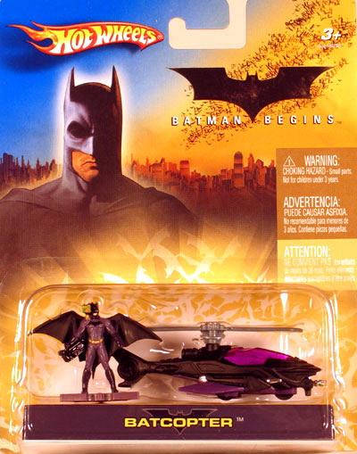 Hot Wheels Batman Begins BATCOPTER