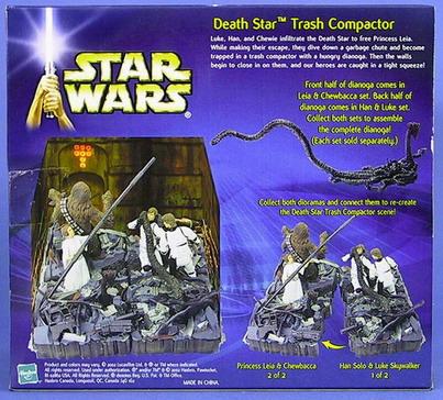 DEATH STAR TRASH COMPACTOR SET