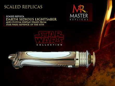 SW Episode III Darth Sidious .45  Scale Saber Replica