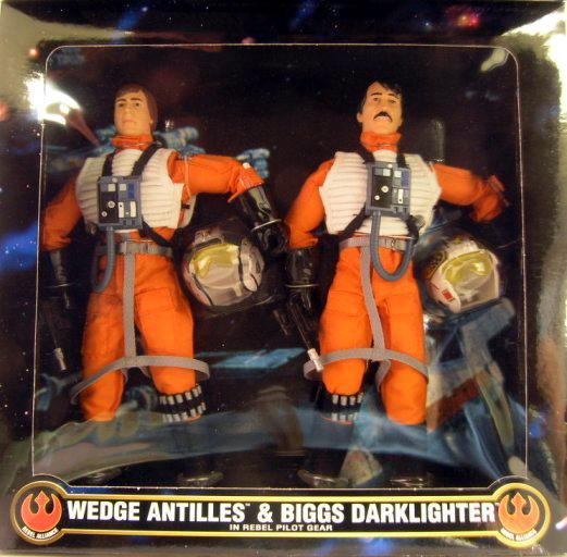 12 Inch Wedge Antilles & Biggs Darklighter
