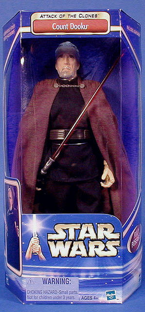 """12"""" Attack of the Clones - Count Dooku"""