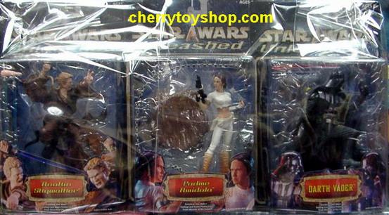 Starwars Unleashed Series 2 Set (3 Packs)