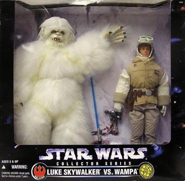"Target Exclusive 12"" Doll -  Luke Hoth w/Wampa"
