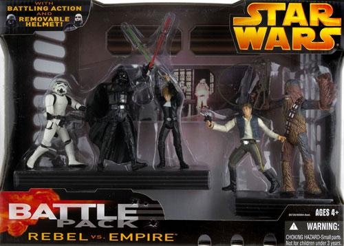 Starwras Battle Pack Rebel VS. Empire