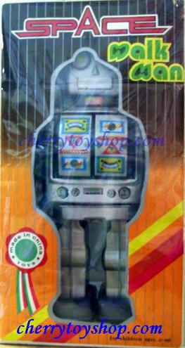 Space Walkman Robot